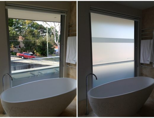 Bath Window Before After